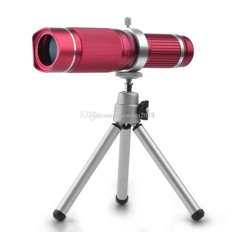 HD Universal Clip 20X Zoom Mobile Phone Telescope Lens Telephoto External Smartphone Camera Lens for iPhone Sumsung Huawei