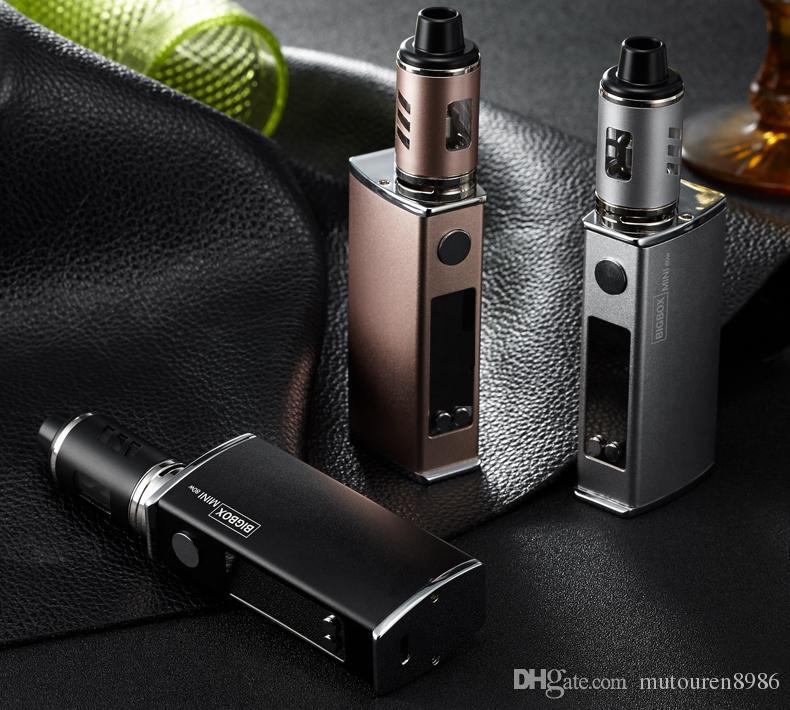 80w box mod kit electronic cigarette vaporizer adjust wattage 1.8 ml vaporizer LED screen vape e-cigarettes