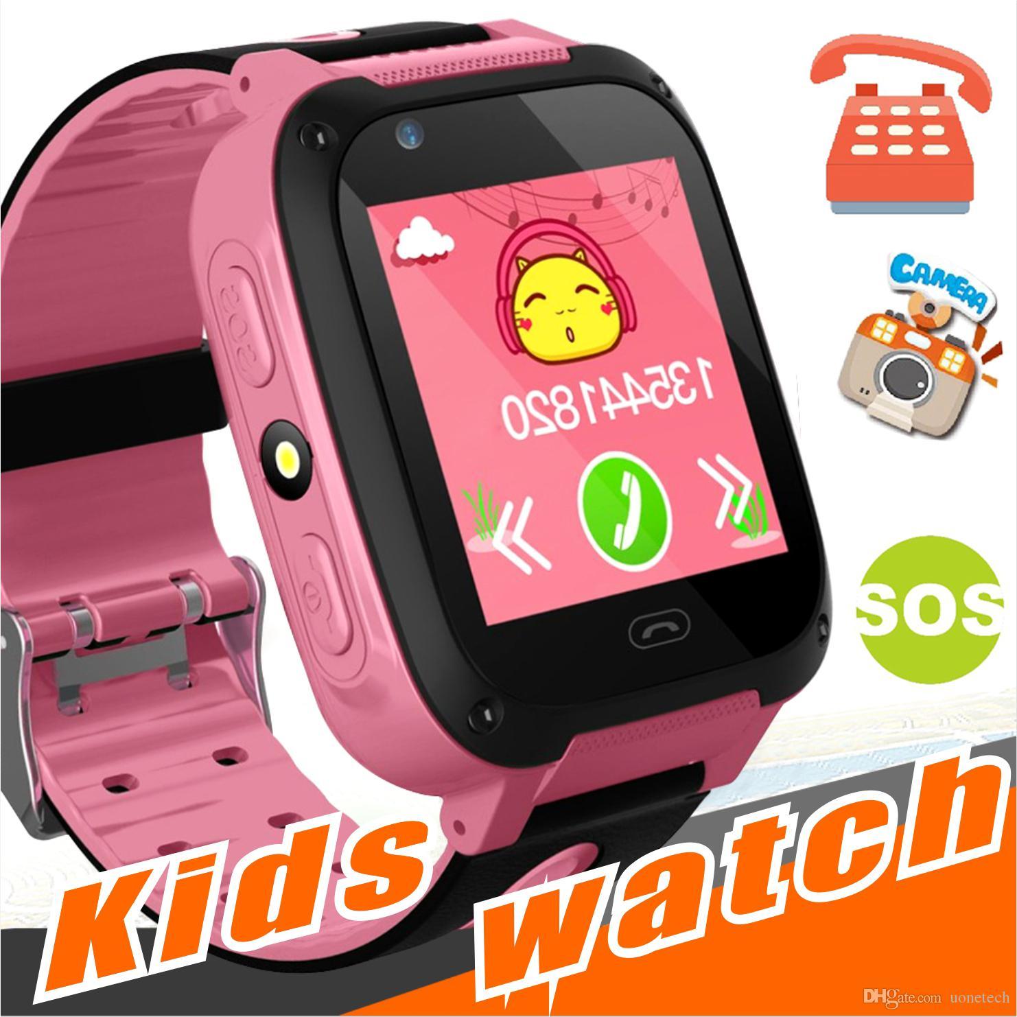 Q528 Kids Smart Watch Kid SmartWatch 1.44 Inch Touch Screen SOS Emergency GPRS Alarm Camera Anti-lost Clock Wristwatch Baby Clock