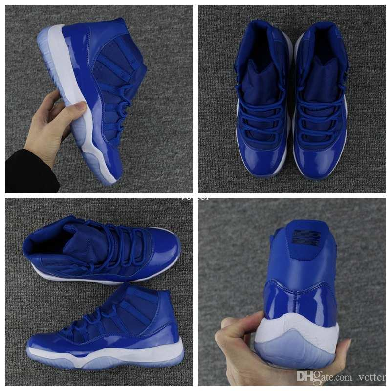 2018 New High Quality 11 XI Royal Blue Basketball Shoes For Men ...