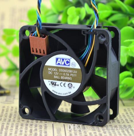 AVC 6025 DS06025B12U 12V 0.7A Cztery Prędkości PWM Części zamienne