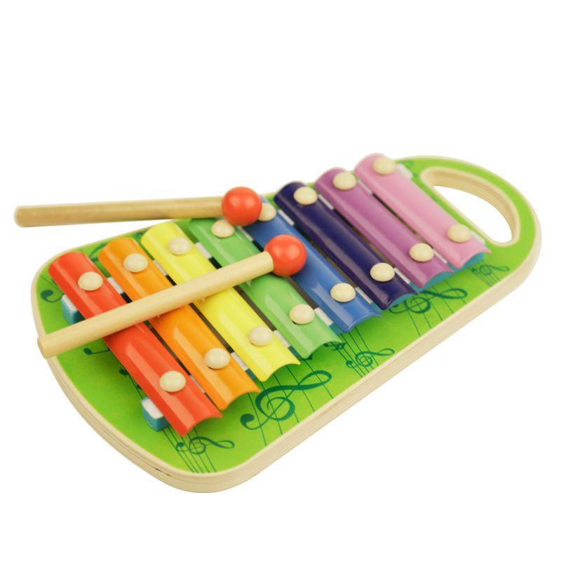 أطفال لعبة جولة حبة صغيرة الدب على البيانو ثمانية ناحية مرحلة ما قبل المدرسة Juguets Juguets