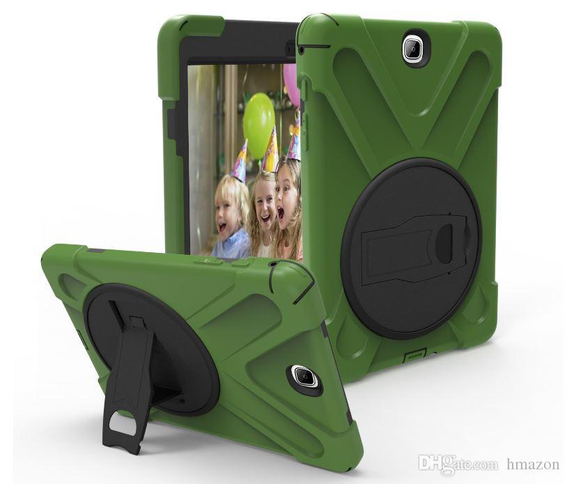 Heavy Duty ShockProof Rugged Impact Hybrid Tough Armor Case For iPad mini123 4 2 3 4 5 6 air 2 New iPad9.7 2017/9.7 2018 Air 3 iPad Pro 10.5
