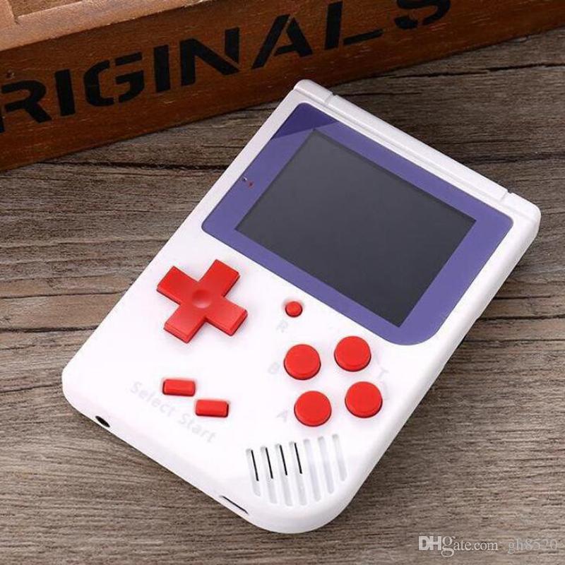 Портативные игроки RS-6 портативный ретро мини портативный игровой консоли 8 бит цветной ЖК-плеер для ФК игры бесплатно DHL