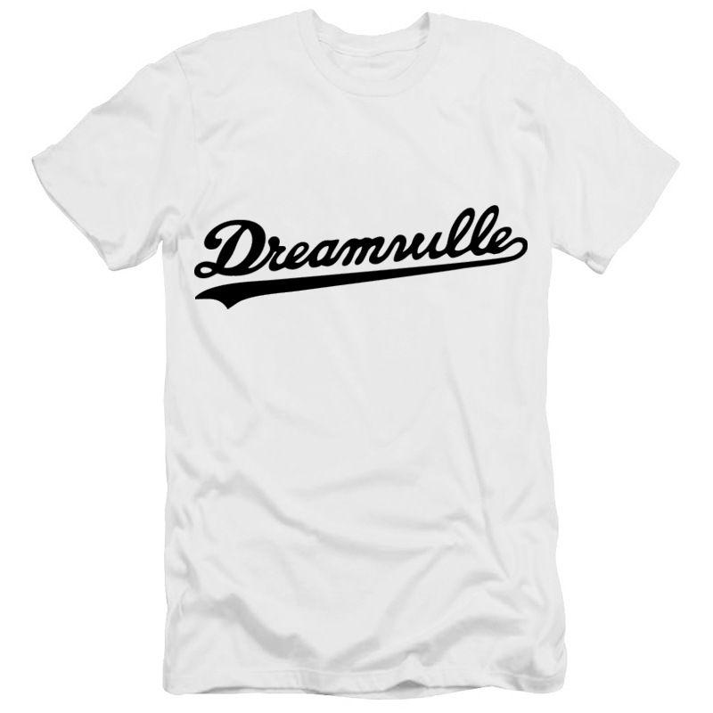 Designer Cotton Tee New Venda Dreamville J COLE logotipo impresso camiseta Mens Hip Hop Cotton T-shirt Atacado 20 cores de alta qualidade