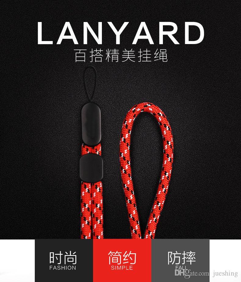 Dragonne dragonne pour iPhone 7 8 Xiaomi Redmi 4X clés USB Clés PSP téléphone badge keyder mini 300pcs / lot