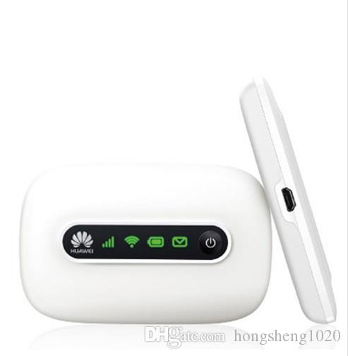 Yeni Orijinal Unlocked HUAWEI WiFi Router - HUAWEI E5331 5 MiFi Hotspot Desteği 5 Kullanıcılar için 21 Mbps