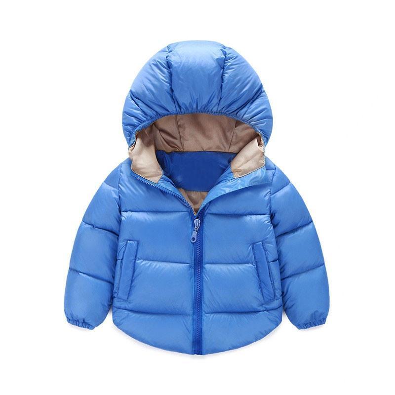 4 Colori Lovely Boy Winter Giacche Abbigliamento per bambini Capispalla Stile invernale Neonati e ragazze Vestiti caldi per 1-4 anni