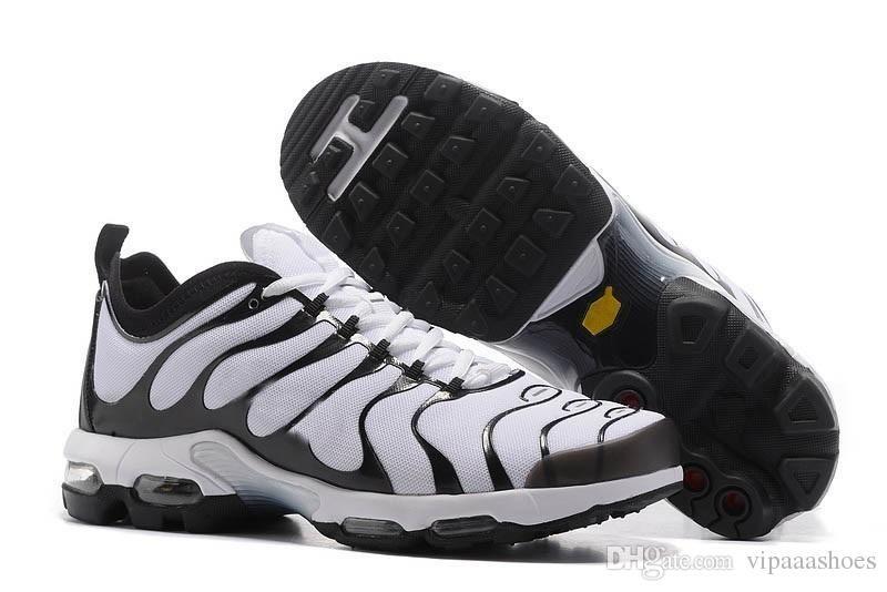 Großhandel Nike Air Max TN Vapormax Off White Adidas Yeezy SuprHeißer Verkauf TN Regenbogen Herren Schuhe Flachboden Luftpolster Männer Atmungsaktive