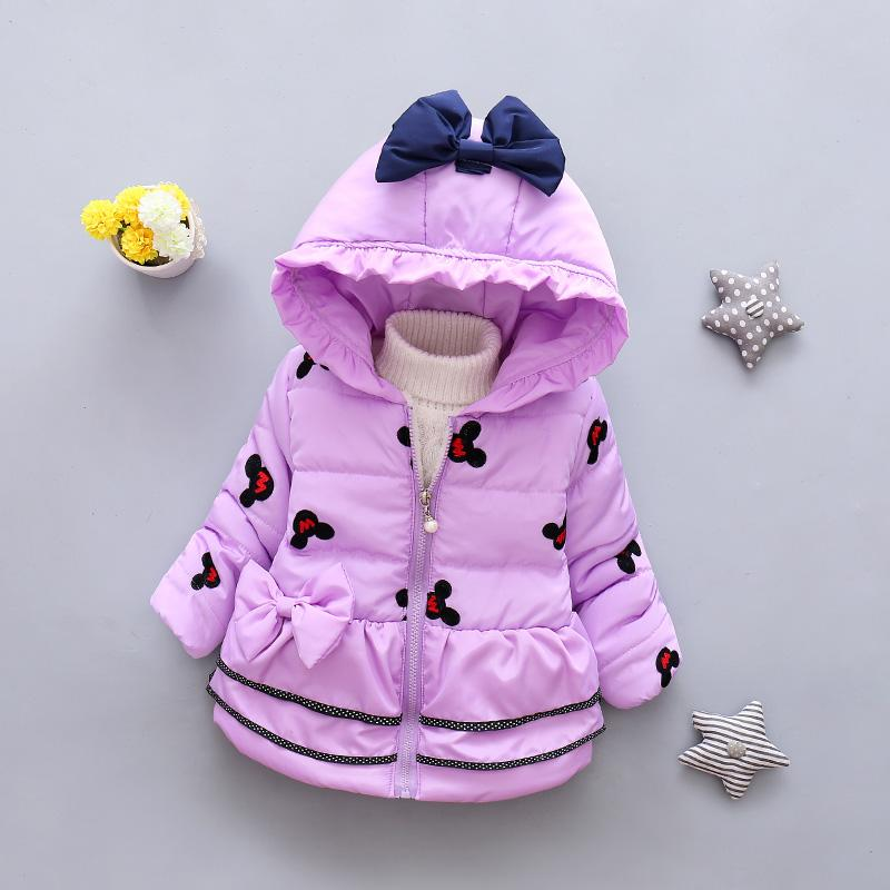 Toddler Kids Baby Coat Girls Strawberry Hooded Jacket Outwear Warm+Bag Outfits