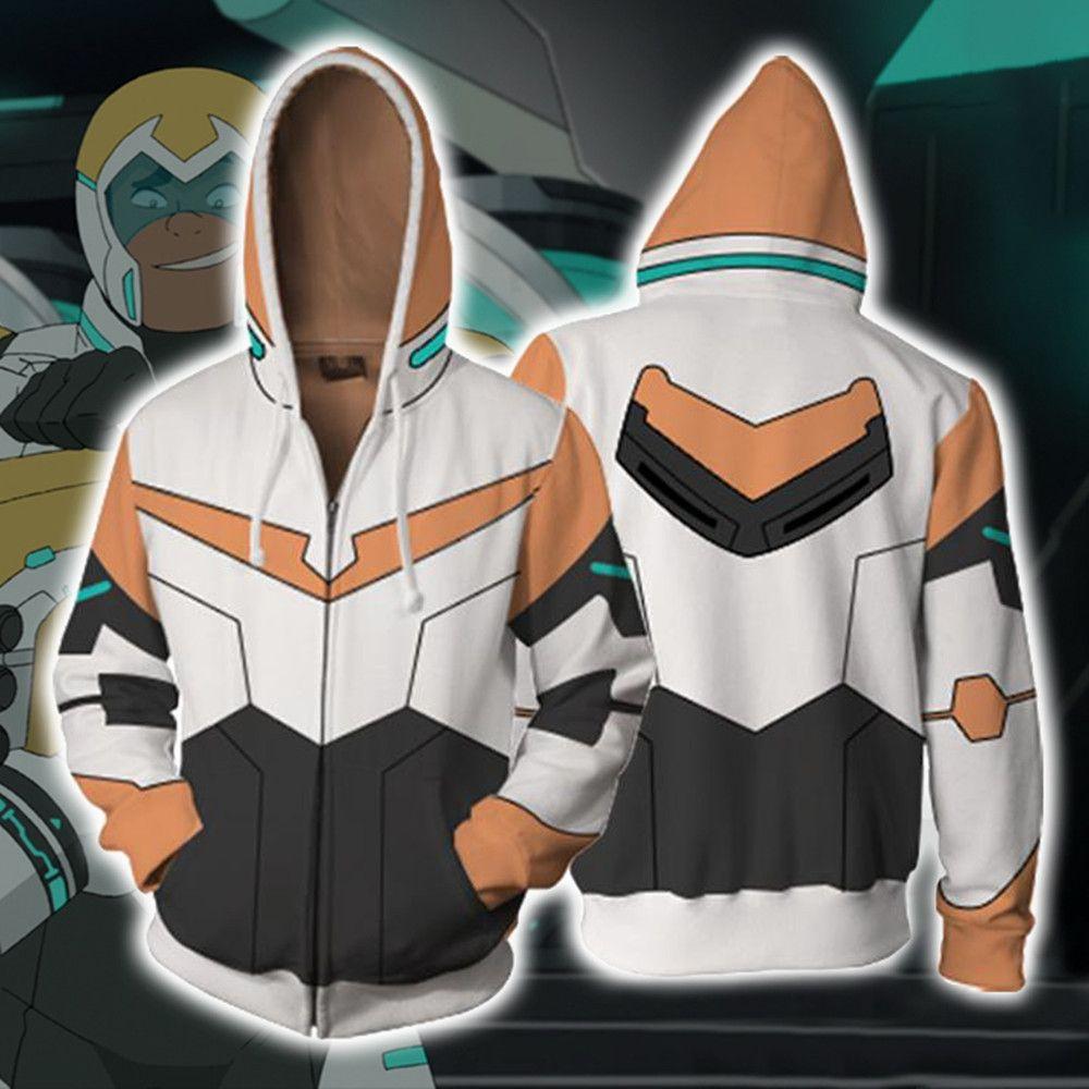 Asya Boyut Japonya Anime Hunk Fermuar Unisex Cadılar Bayramı 3D Cosplay Kostüm Uzun Kollu Ceket Spor Ceket Hoodie