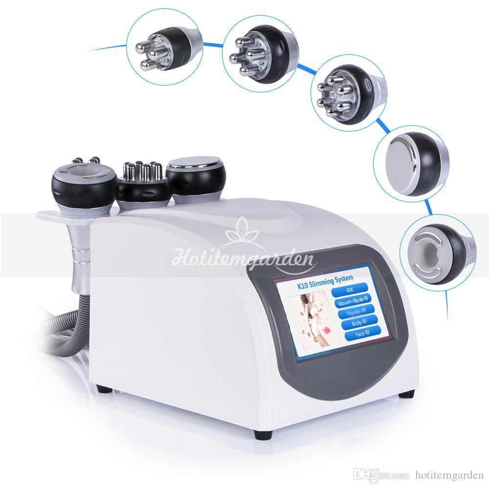Radio Frecuencia Bipolar caliente cavitación ultrasónica 5en1 eliminación de la celulitis adelgazar máquina pérdida de vacío Peso equipo de la belleza