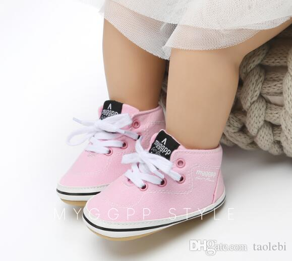 Großhandel Harte Sohle Babyschuhe Erste Laufstiefel Mit