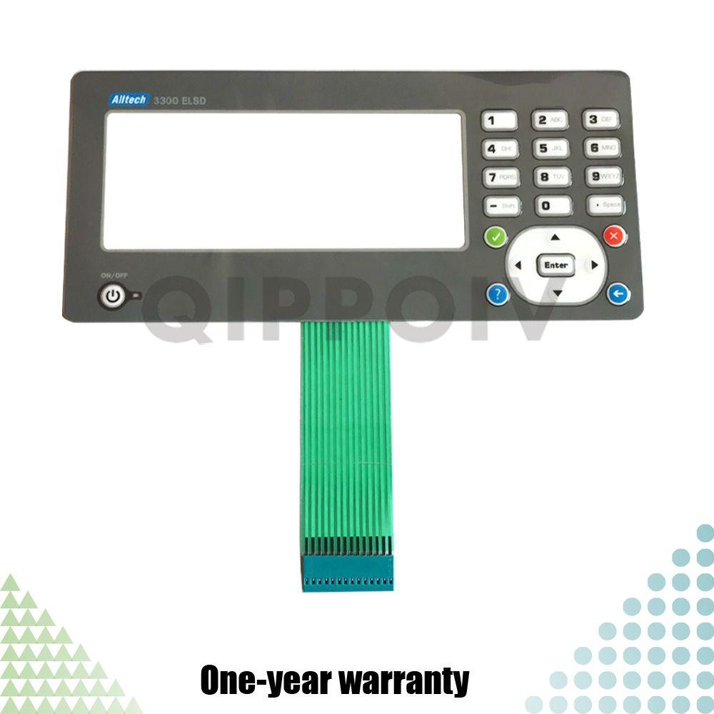 Alltech 3300 ELSD Новый ПЛК HMI Мембранный переключатель Клавиатура клавиатуры Детали промышленного управления