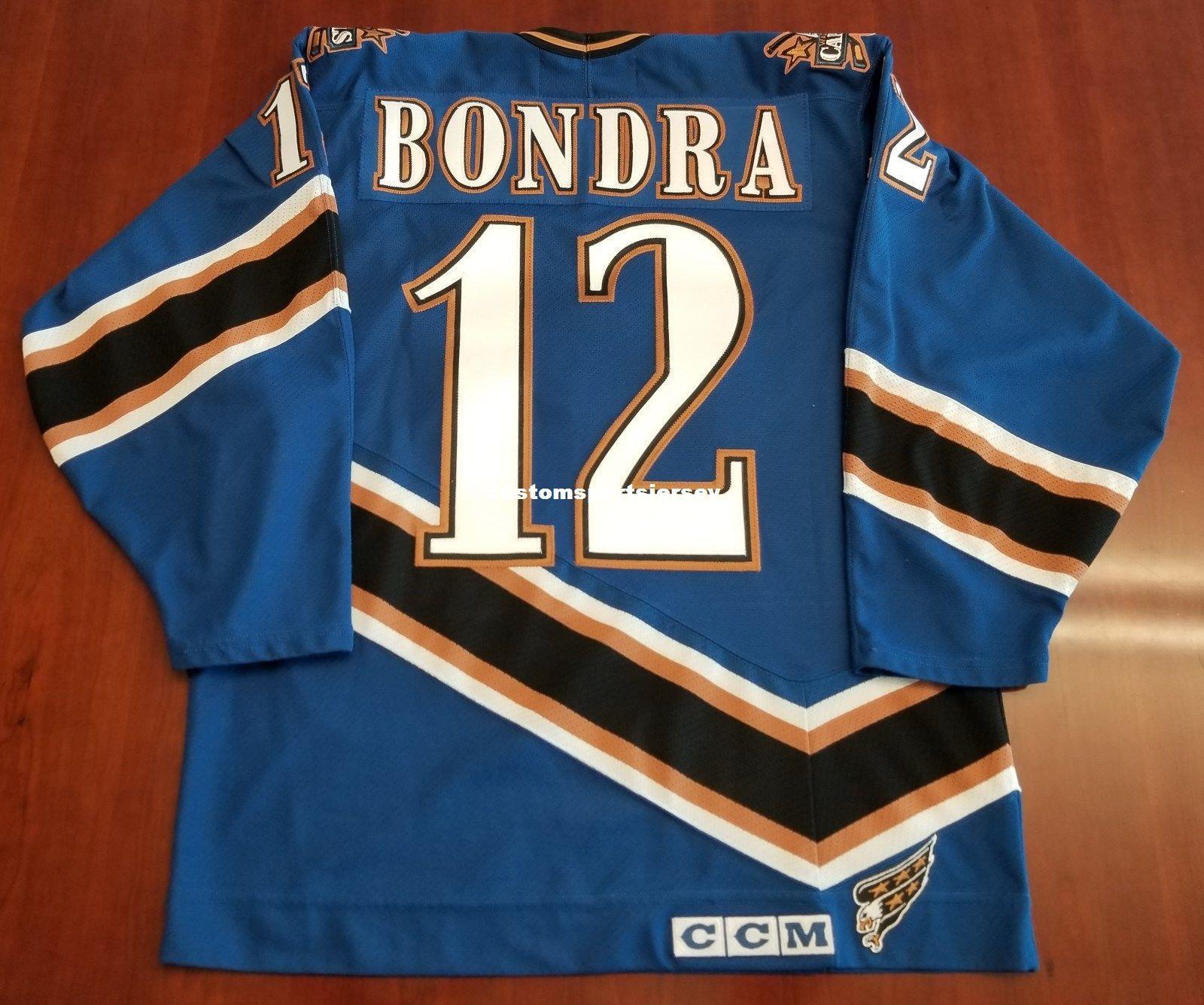 best service e33f8 baddd 2019 Cheap Custom Peter Bondra Washington Capitals Vintage CCM Jersey  Screaming Eagle Stitched Retro Hockey Jersey XS 5XL From  Customsportsjersey, ...