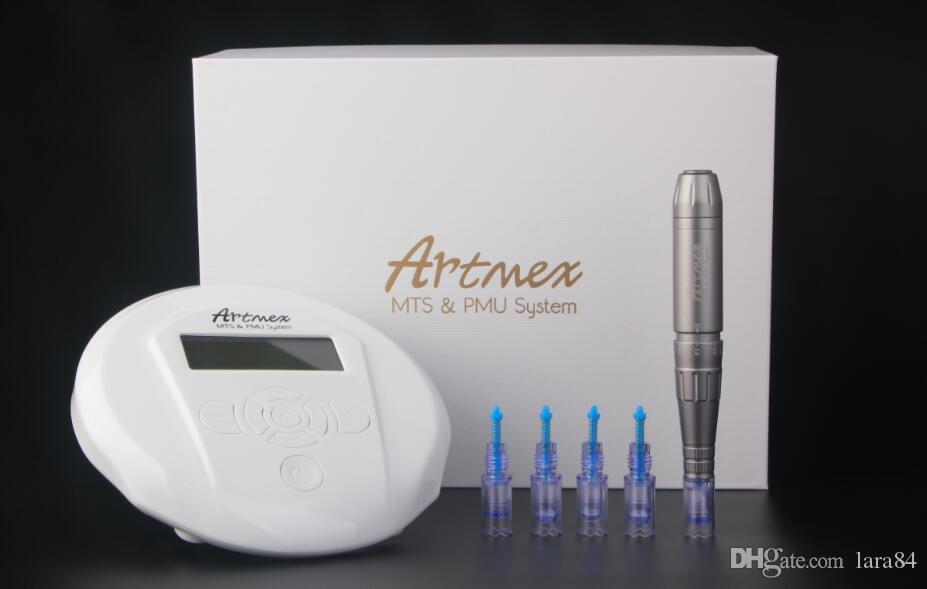 Beautytattoo pen for lip / eyebrow / eyeline salon use digital PMU & MTS semi permanent make up kit tattoo machine