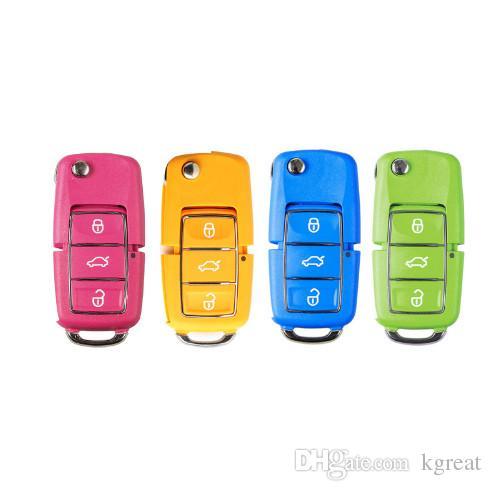 XHORSE (różowy pomarańczowy zielony blule) X001 serii VW B5 Styl 3 Przycisk Uniwersalny klucz zdalny dla narzędzia VVDI