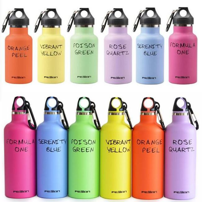 500ml Water Bottle Double Wall Vacuum Insulated Stainless Steel Thermos Flask