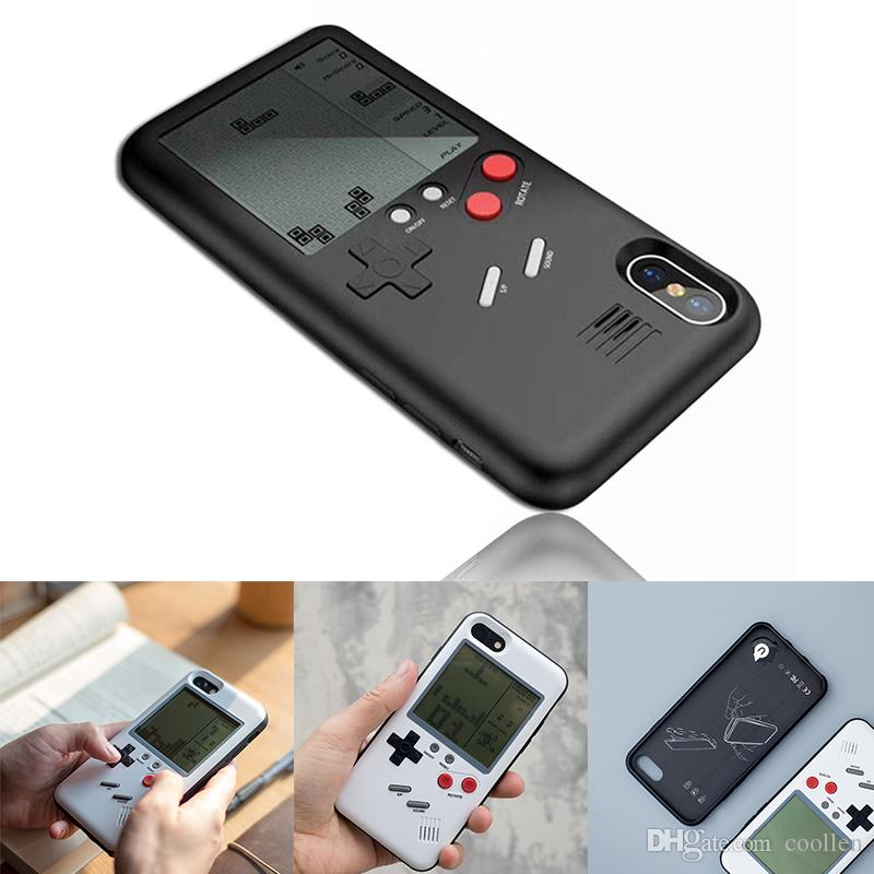 outlet store 67416 50635 Unique Multi Phone Case For IPhone 8 7 Plus 6 6s 6Plus TPU Back Protect  Cover Childhood Gift Classic Game Tetris Phone Case Make Your Own Cell  Phone ...