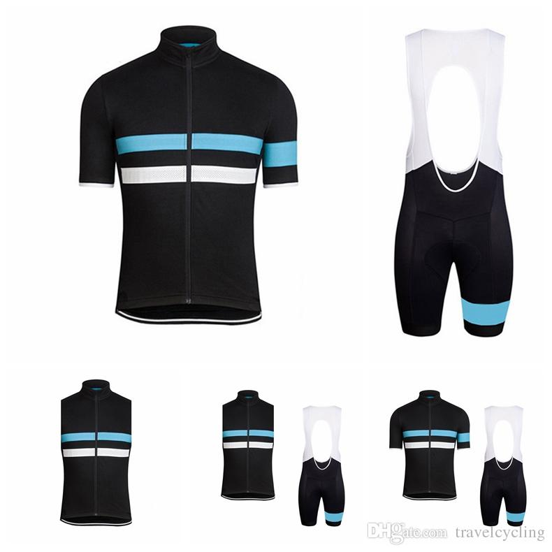 Hot Sale RAPHA team Cycling jersey Short Sleeve tops bib shorts sets 2018 men summer Breathable quick-dry MTB bike ropa ciclismo 90730Y