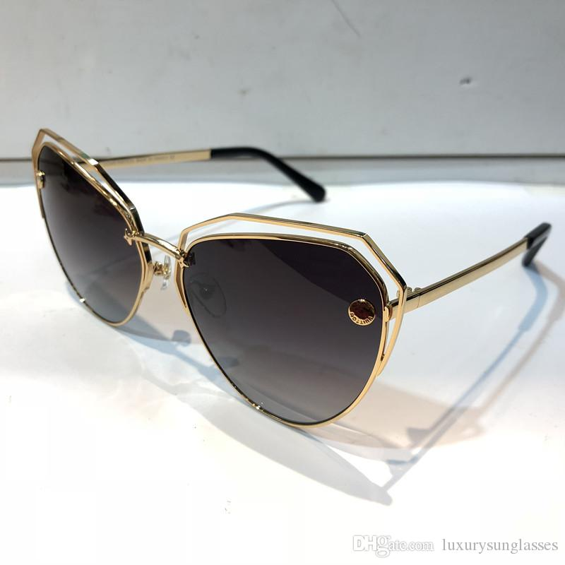 2371 Metallobjektiv für Qualitätsmode Ovale UV-Schutzfarbe Beschichtungslinse Sonnenbrillen Überzogene neue Spiegelrahmenoberseite mit herkömmlichen Frauenkiste ca uuou