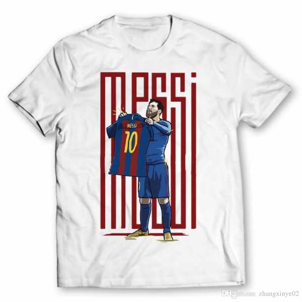 KIDS SIZE T-shirt for Lionel Messi fans NEW epic celebration Barcelona tshirt