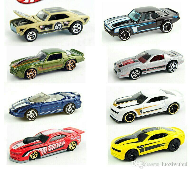 The latest batch of car model toys, hot-small sports car series, simulation model alloy car, pocket toy series! DHL free shipping