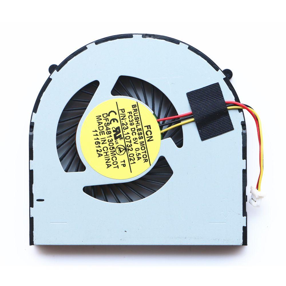 Nueva original del ventilador para Dell 14RD 3421 5421 5435 2421 5437 5748 5749 P26E ventilador de la CPU 23.10732.001