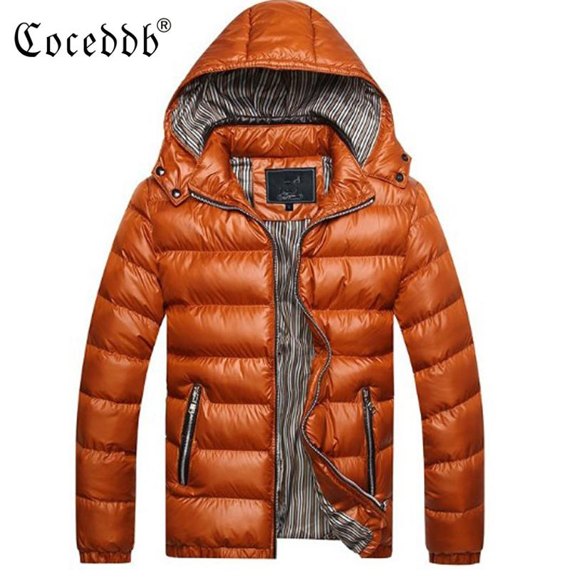2018 Yeni Varış Erkek Ceketler Erkekler Ceket Ve Mont Kalın Parka Erkekler Dış Giyim 4XL Ceket Erkek Giyim Erkek Ceket Ve Ceket