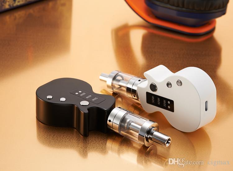 1 PCS guitare kit de démarrage e cigarettes Mini boîte mod 1200mah vape mods cigarette électronique a rencontré atomiseur 2,0 ml vaporisateur