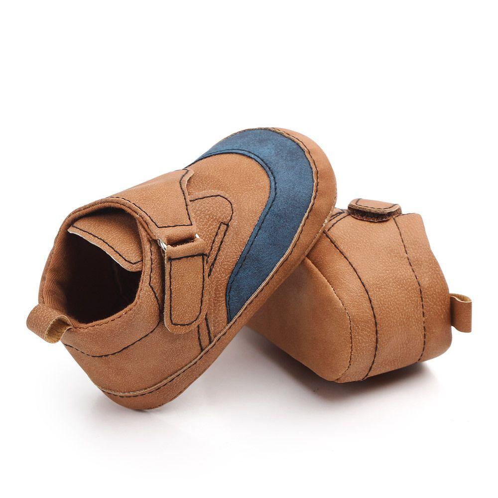 الوليد أحذية أطفال الرضع طفل لينة سوليد طفلة بوي الأطفال الأولى حمالات لينة وحيد أحذية رياضية أحذية بدون كعب عارضة