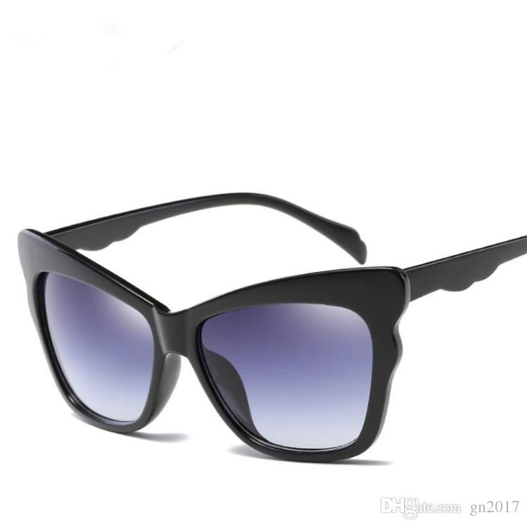 Fashion Cat Eye Sunglasses Women & Men Sun Glasses Anti-UV Spectacles Eyeglasses Goggle for Shopping Driving Travel Eyewear