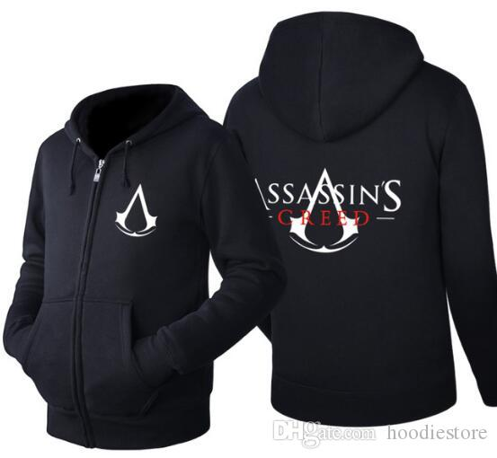 Mens hoodie jacket Assassins creed fashion assassin hoodie Cosplay clothing Casual wearing spring&summer EU US Plus Size
