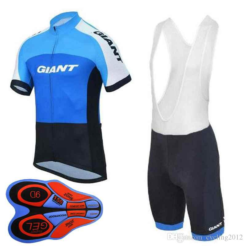 2018 new Giant pro cycling jersey Bisiklet team sport suit bike maillot ropa ciclismo Bicycle MTB bicicleta clothing set 10413J