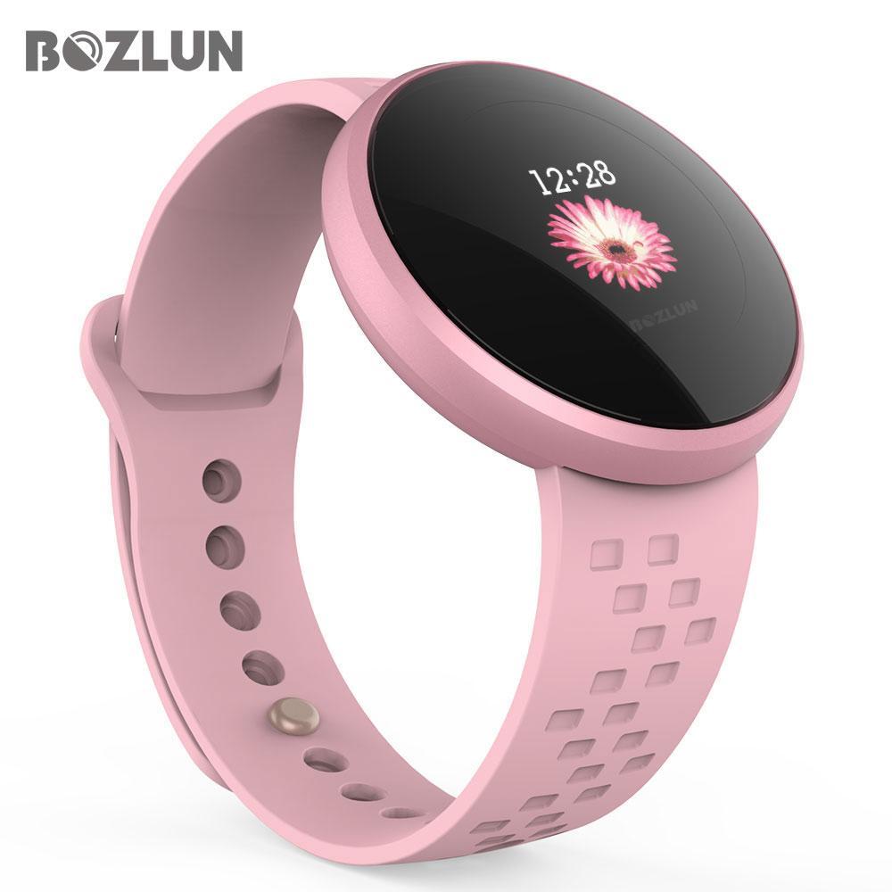 Atacado Moda Feminina Inteligente Relógio Digital Feminina Período Lembrete HeartRate Relógios À Prova D 'Água Colories Passo Beleza Relógio de Pulso B36
