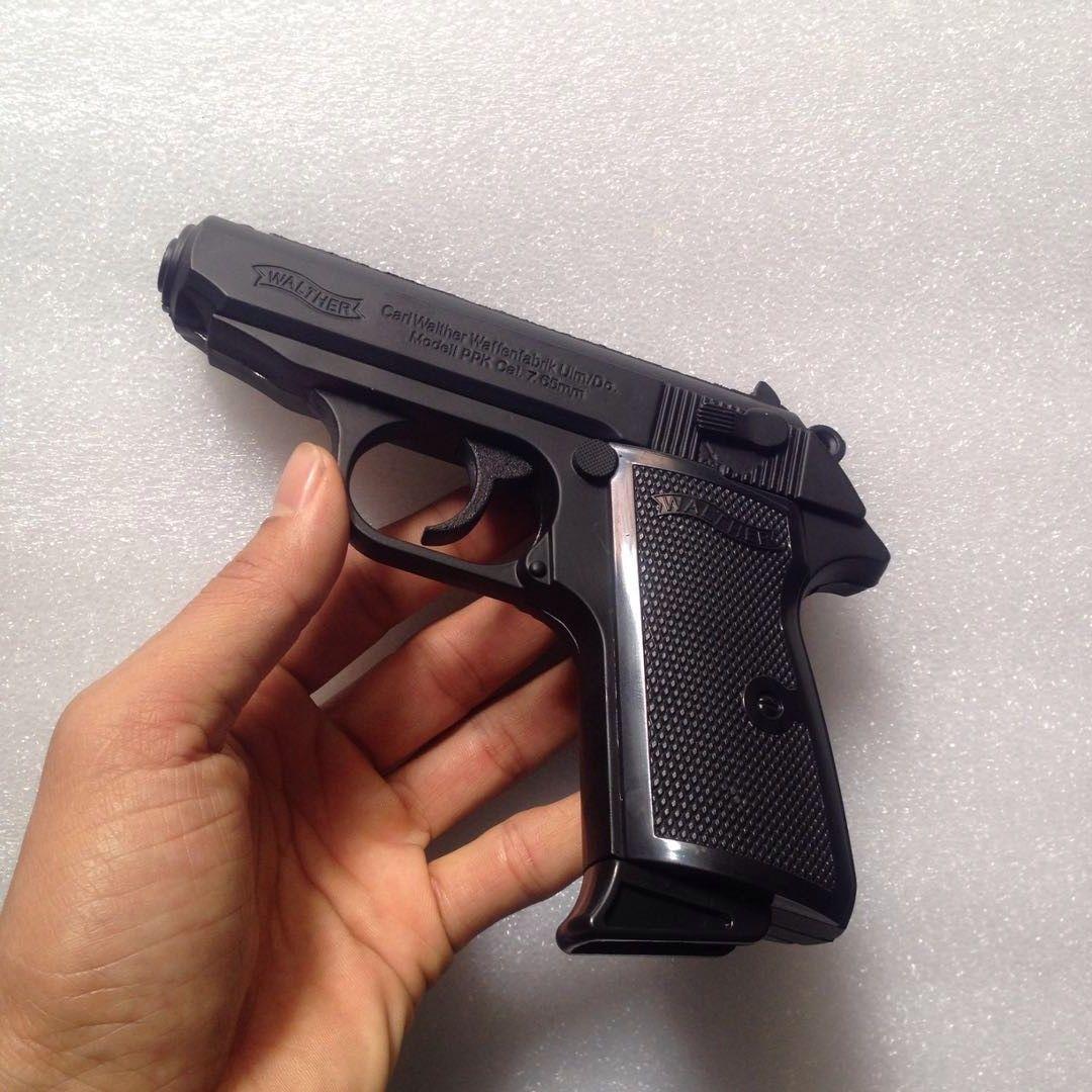 2019 Pistol Gun Cal Walther PPK 7 65mm Lighter Jet Torch
