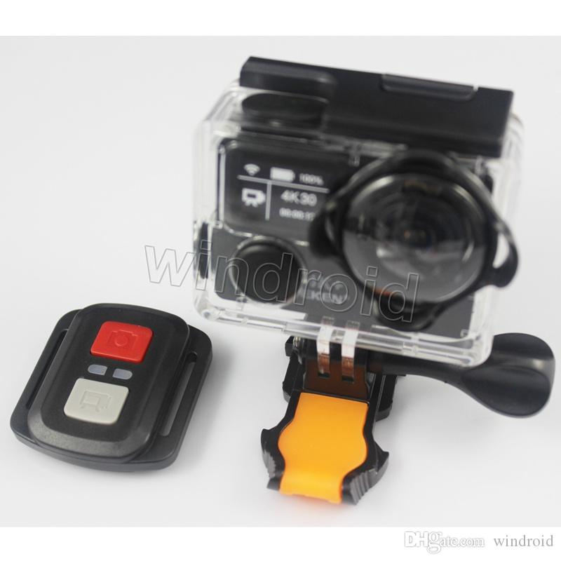"""EKEN H5S plus Action Sports Camera 2"""" Touch Screen Native 4K 30 EIS 170 Wide Angle Metal frame WiFi 30M Waterproof Remote Control 12MP"""