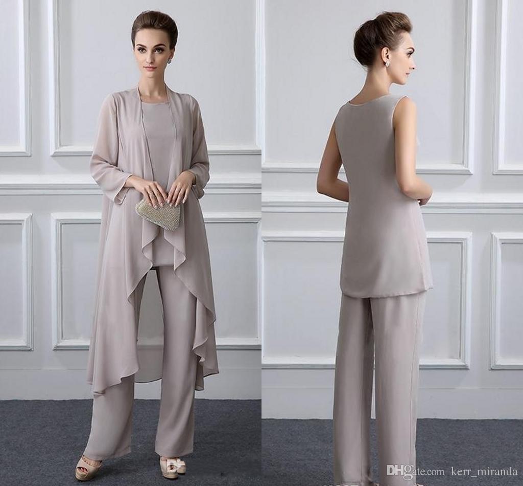 Acheter Mère Élégante Des Costumes De Pantalon