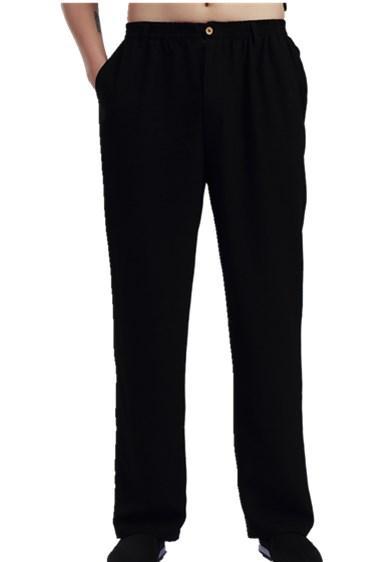 Шанхай история китайский стиль мужские брюки тай-чи кунг-фу брюки кунг-фу костюм брюки тайцзи удобная одежда ушу