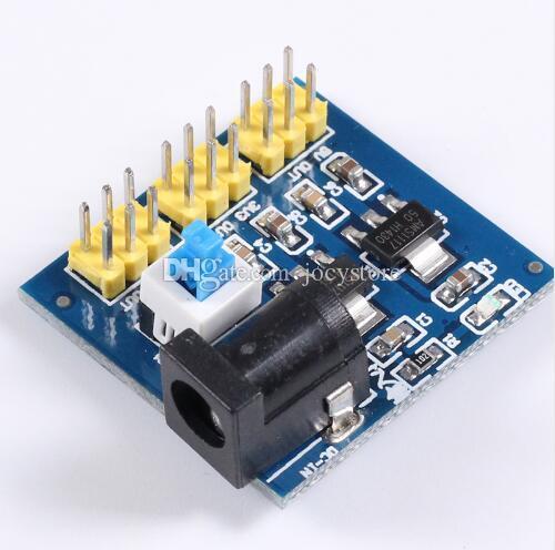 3 unids / lote 3.3V 5V 12V Conversión de voltaje de salida múltiple DC-DC 12V a 3.3V 5V 12V Módulo de potencia