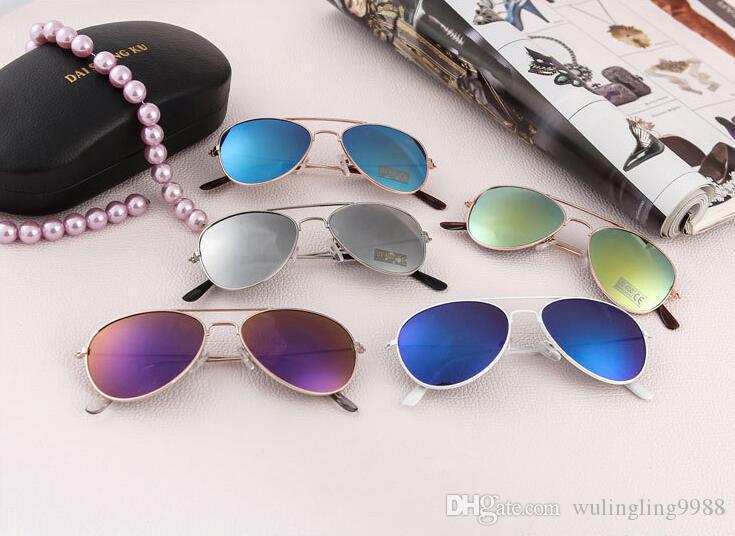 Accessori per bambini Bambini Beach Sunscreen per bambini occhiali da sole occhiali da sole occhiali da sole neonati moda ragazze tenda da sole bambini occhiali da sole uegnh