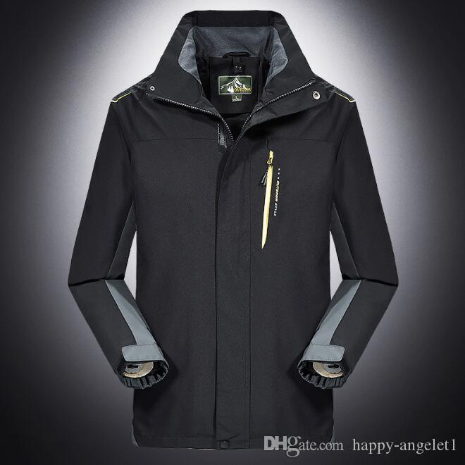 Autumn Man's Patchwork single layer jacket,detachable hooded Deportes waterproof windbreaker,professional jackets