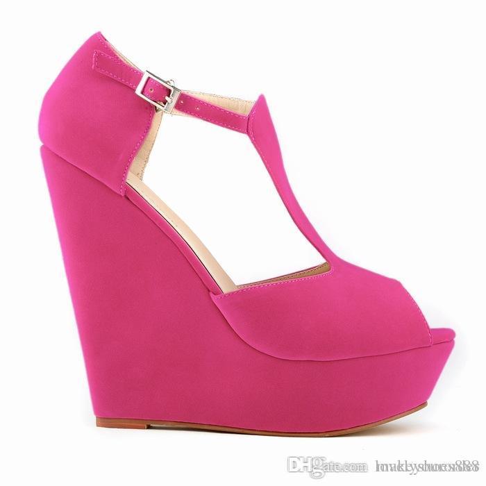Büyük boy 35-42 mavi bej turuncu mor gül beyaz sarı yeşil siyah renk 14 cm topuk kadın ayakkabı 474