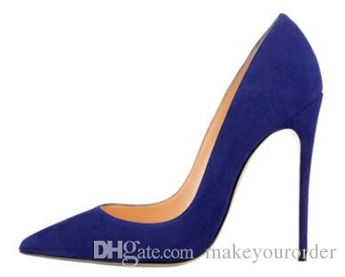 Red Bottoms High Heels Sexy Pointed Toe Red Sole 8cm 10cm 12cm Pumps Come With Logo dust bags Wedding shoes 512