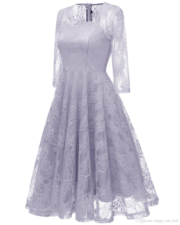 2a40a08a6c4d30c ... Девушка кружева с длинным рукавом Холтер выдалбливают вышитые  Сексуальная свадьба вечернее платье женщины цветок кружева печатных