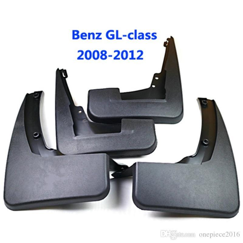 4pcs / set viaturas mudflaps respingo Guardas da aleta da lama lamas Fender Para Benz GL Classe X164 GL450 GL350 2007 2008 2009 2010 2011 2012