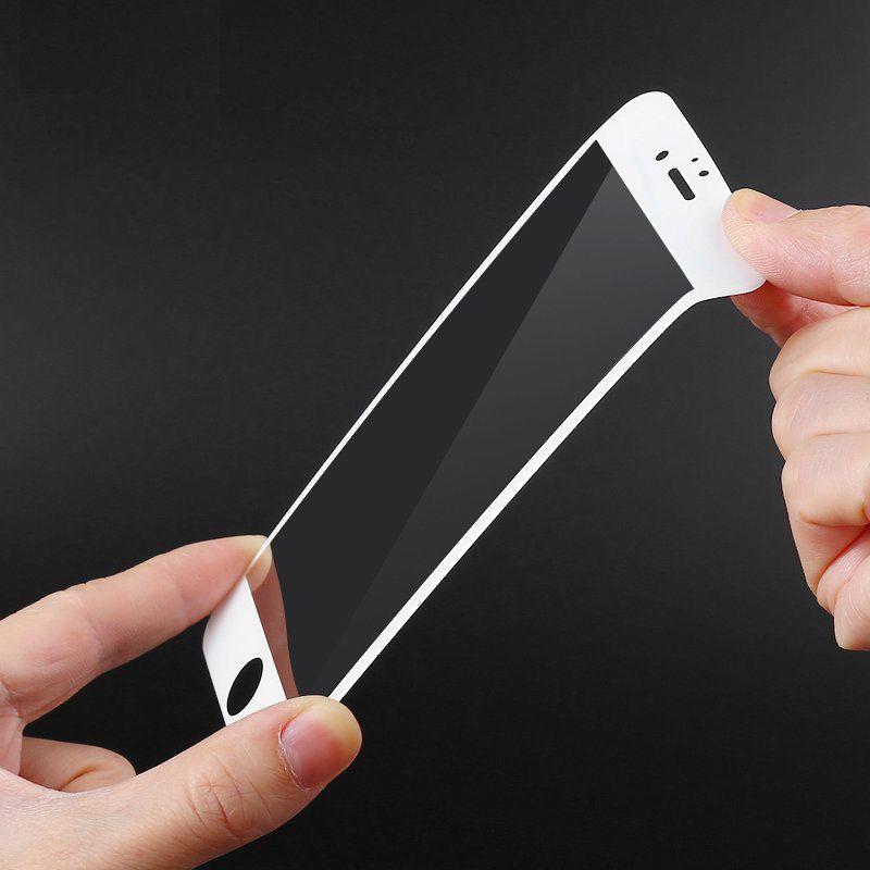 Per 3D Iphone 6 7 8 plus Pellicola Schermo intero in fibra di carbonio Bordo morbido Pellicola anti-blu Anti-caduta Anti-impronta digitale Per iphone 6 plus Pellicola