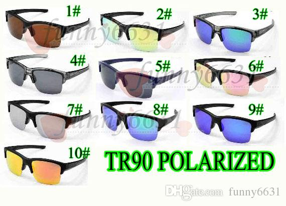MOQ=5 summer MAN Brand Polarized Sunglasses TR90 Material Women Outdoor Sport Cycling Eyewear driving glass +case cloth bag Colors fre ship