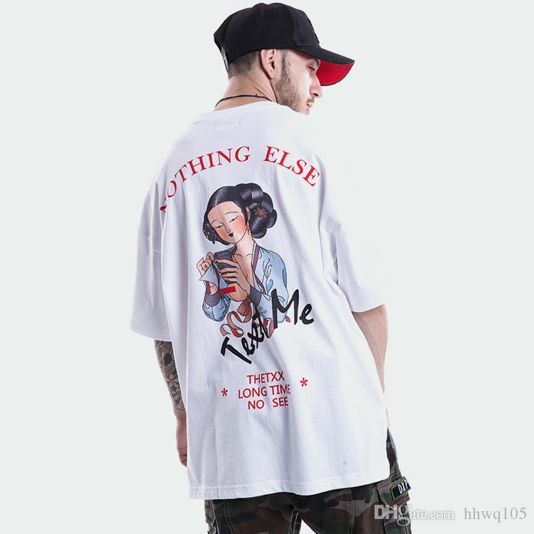 OVERSIZED TEE T shirt med print black