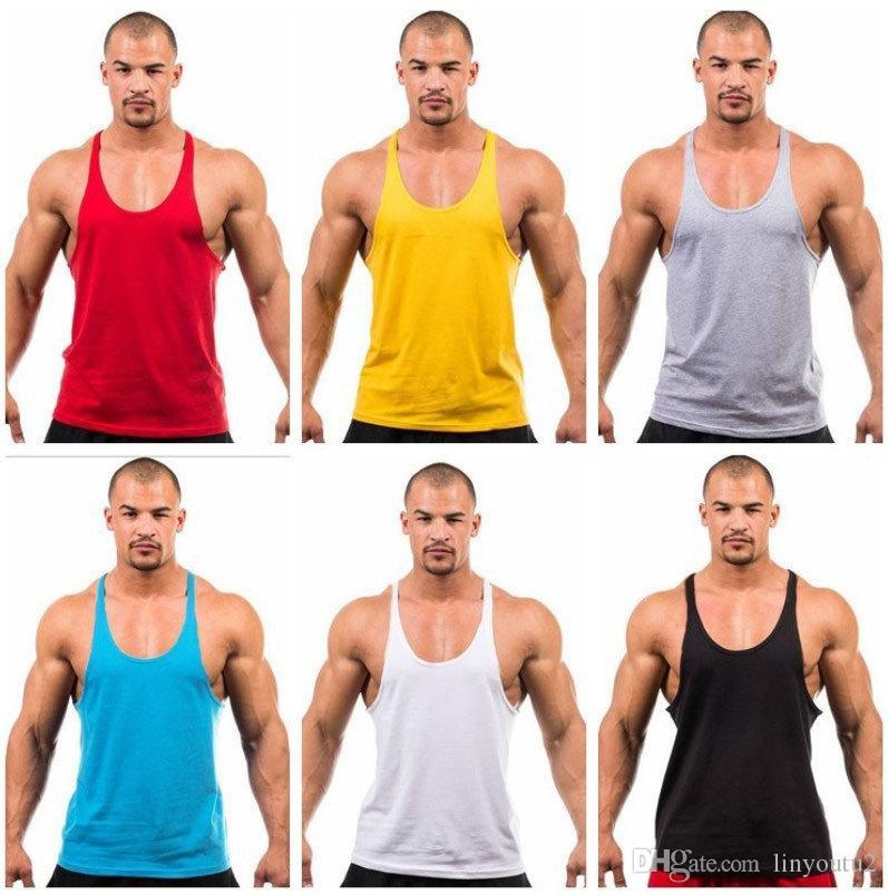 Siete Joe.bodybuilding chaleco tanque de la marca bodybuilding entrenamiento para hombre undershirt fitness hombres camisetas sin mangas singlets corte muscular